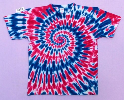 Red White Blue Spiral T Shirt Tie Dyed Ombre Pinterest