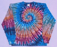 Long Sleeve T-shirt Earth Spiral