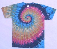 T-shirt Earth Spiral
