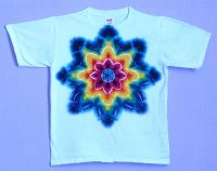 Rainbow-Star-on-White T-shirt