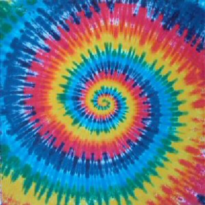 tie dye rainbow spiral tapestry by dyed in vermont. Black Bedroom Furniture Sets. Home Design Ideas